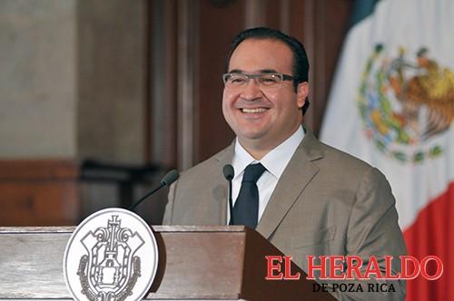 Reconoce Javier Duarte apoyo del presidente