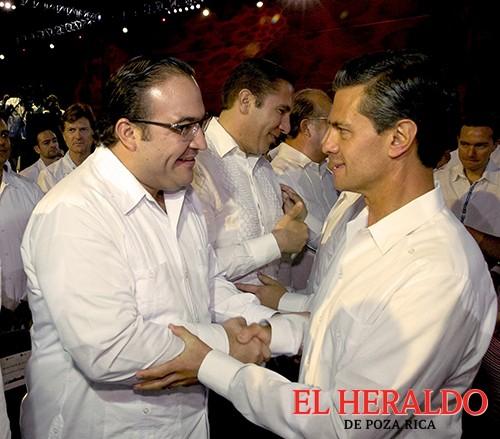 Firme apoyo de Peña Nieto a Veracruz: JDO