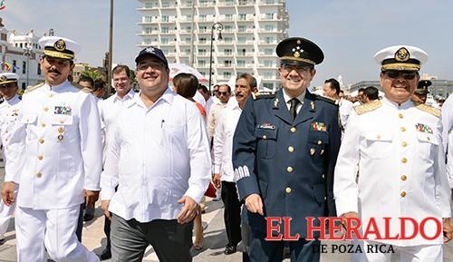Armada de México, aliada del progreso de Veracruz