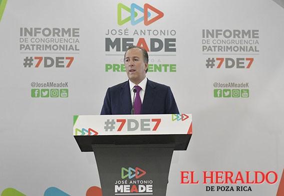 Meade presentó su Informe de Congruencia Patrimonial