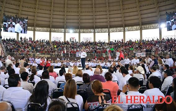 Meade anunció compromisos en favor de Tamaulipas