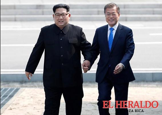 Cumbre histórica entre las 2 Coreas