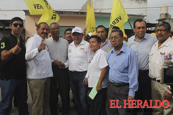 Comerciantes de Poza Rica respaldan a 'Goyo' Gómez