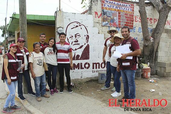 Ciudadanos expresan el apoyo a Raquel Bonilla