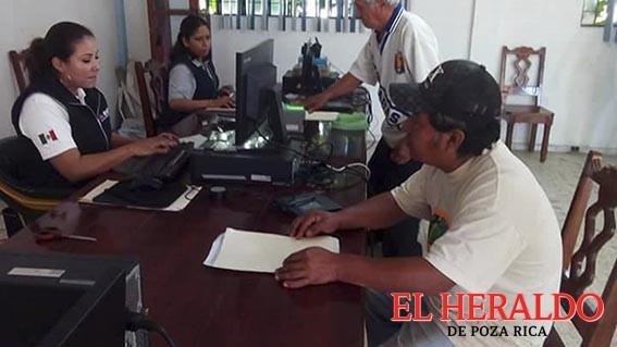INE trabaja en comunidades