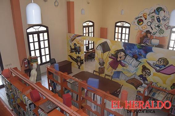 Biblioteca mejora imagen