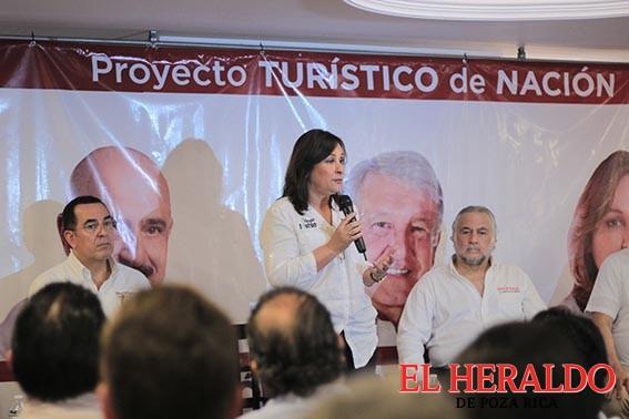 Presenta Rocío Nahle propuestas en Turismo