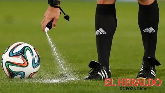FIFA analiza spray para silbantes