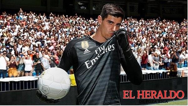 Un sueño llegar al Madrid: Courtois