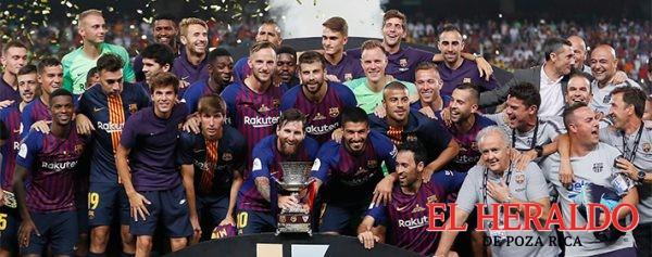 Barcelona se lleva la Supercopa