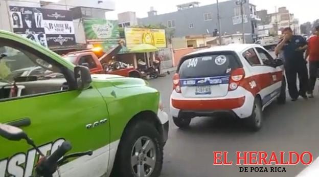Otro motociclista lesionado en choque
