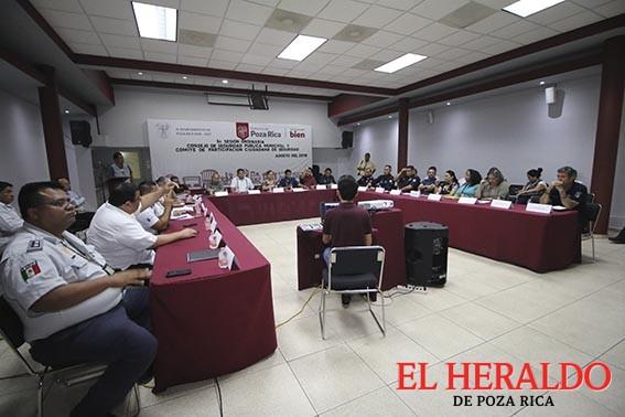 Se realiza sesión del Consejo de Seguridad Pública Municipal