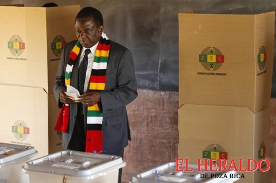 Reeligen a Mnangagwa