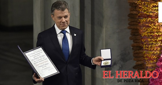 Manuel Santos, recibe premio Tipperary