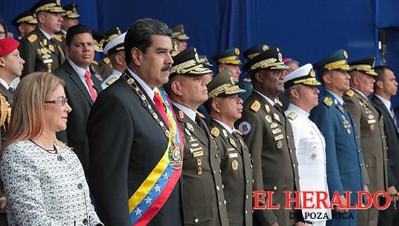 Condenan países atentado contra Maduro