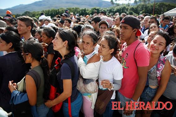 Éxodo de venezolanos suma 2.3 millones