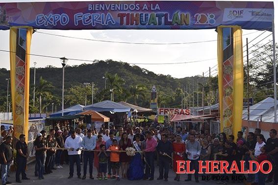 Miles disfrutaron la Expo Feria Tihuatlán