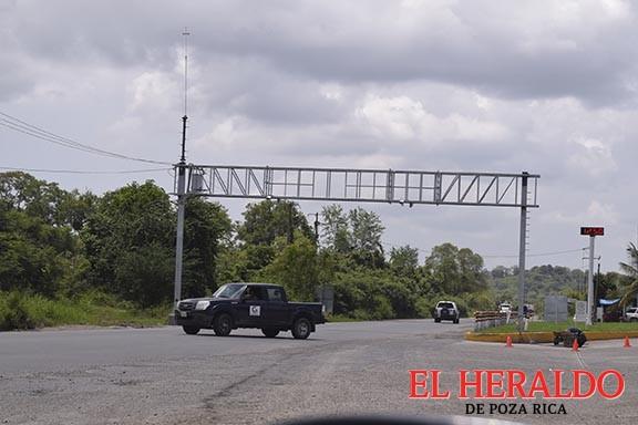 Arcos de vigilancia, en funcionamiento