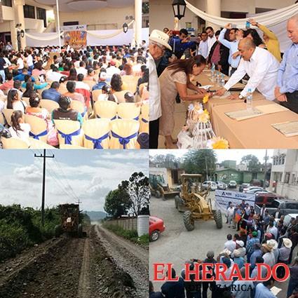 Rehabilitarán caminos municipales
