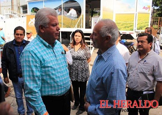 Jorge Vera preocupado y ocupado por la agricultura