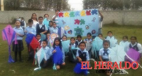 Escolares celebraron ´Día Mundial del Autismo´