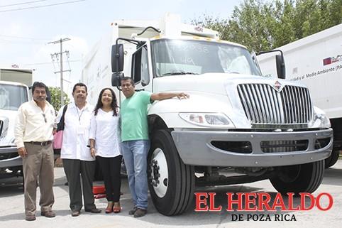 Solicitan a Pemex camión recolector