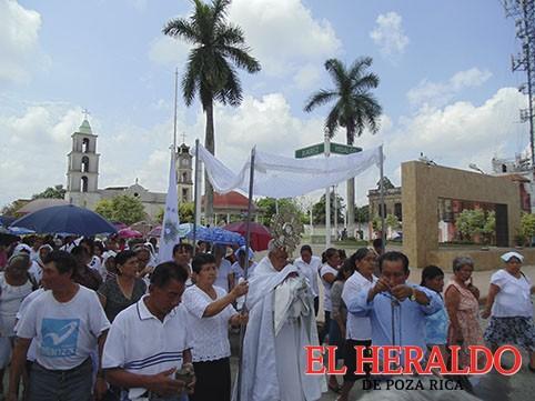Convoca parroquia a procesión de Corpus