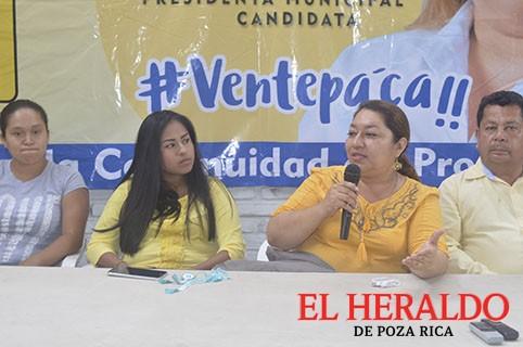 Se suma candidata a Regidora del Panal a Patricia Cruz Matheis