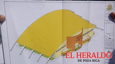 Construirán el Gimnasio Municipal