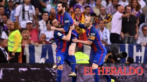 Messi le gana al Madrid