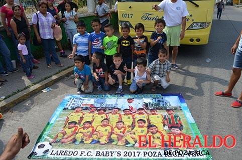 Viajaron a la Copa Medellín