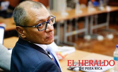 6 años de prisión a vicepresidente en Ecuador