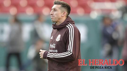 Héctor Herrera se ausenta del Tri
