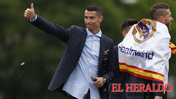 Cristiano dejará al Real Madrid