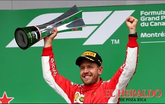 Vettel triunfa en Canadá