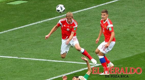 Gazinskiy anotó el primer gol del Mundial