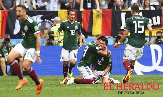 México derrotoa Alemania y lucio