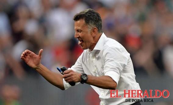 México jugó por el amor a ganar no por el temor a perder: Osorio