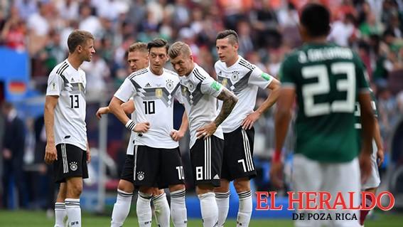 Alemania pierde un debut mundialista