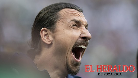 Zlatan Ibrahimovic celebró el triunfo de México