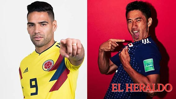Colombia y Japón debutan en Rusia