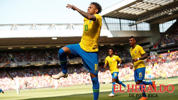 Brasil le pegó a Croacia en amistoso