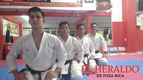 Van a la Olimpiada Nacional de Karate