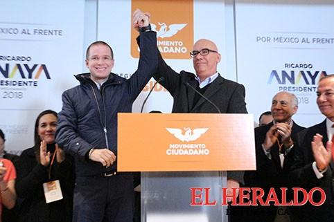 Se registra Ricardo Anahay como precandidato por MC