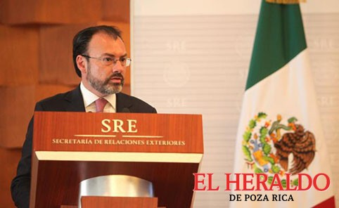 """""""México no pagará el muro"""": Luis Videgaray"""