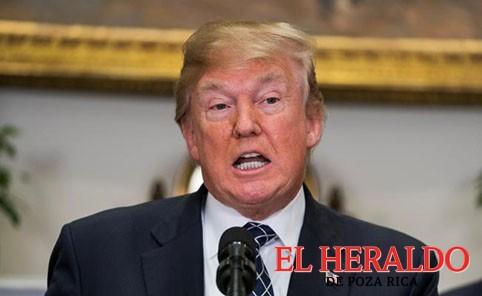 Trump amenaza con dejar pacto