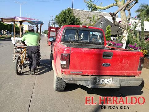 Una más de taxistas en Tihuatlán