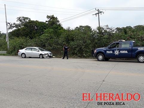 Encontronazo en la Pachuca-Tuxpan