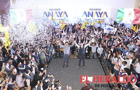 Candidatos del Frente cambiarán a Veracruz