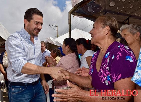 Reconoce MAYM apoyo y entusiasmo de Las Choapas